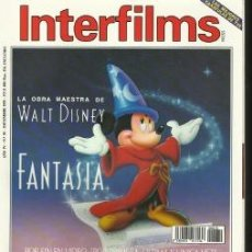 Cine: REVISTA INTERFILMS Nº39 DICIEMBRE 1991. Lote 37056138