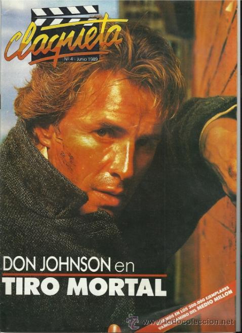REVISTA CLAQUETA Nº4 JUNIO 1989 (Cine - Revistas - Claqueta)