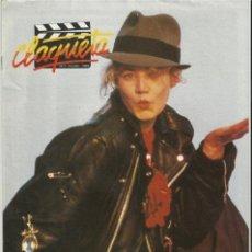 Cine: REVISTA CLAQUETA Nº 7 OCTUBRE 1989. Lote 37058916