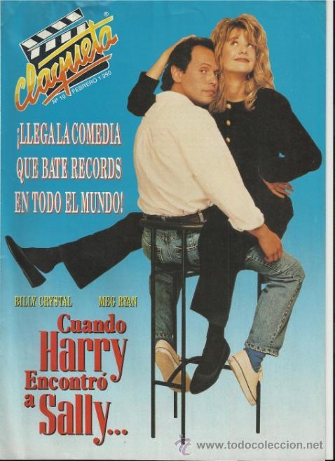 REVISTA CLAQUETA Nº 10 FEBRERO 1990 (Cine - Revistas - Claqueta)