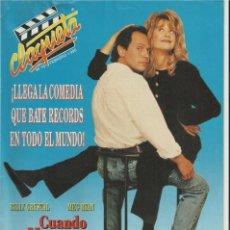 Cine: REVISTA CLAQUETA Nº 10 FEBRERO 1990. Lote 37058949