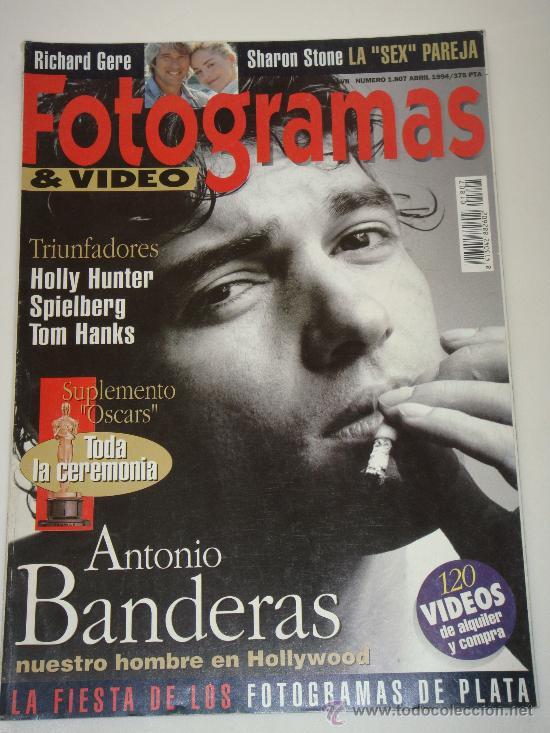 FOTOGRAMAS Nº 1807, ABRIL 1994, PORT. ANTONIO BANDERAS (Cine - Revistas - Fotogramas)