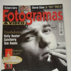 Cine: FOTOGRAMAS Nº 1807, ABRIL 1994, PORT. ANTONIO BANDERAS. Lote 37296311