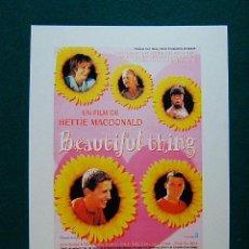 Cinema: BEAUTIFUL THING - HETTIE MACDONALD - SCOTT NEAL - CLEN BERRY - LINDA HENRY - 1996 - DESCRIPCION .... Lote 37419357