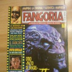 Cinema: FANGORIA Nº 28. VAMPIRA, EL EXORCISTA, PACTO DE SANGRE, LANCE HENRIKSEN.... Lote 37441184