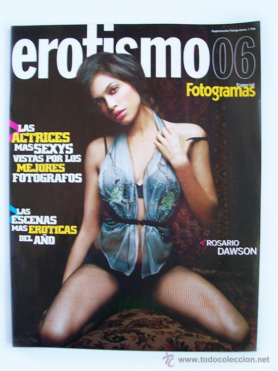 "SUPLEMENTO ""FOTOGRAMAS"" – EROTISMO 2006 (Cine - Revistas - Fotogramas)"