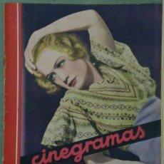 Cine: RX14 MIRIAM HOPKINS REVISTA ESPAÑOLA CINEGRAMAS Nº 53 SEPTIEMBRE 1935. Lote 37605102