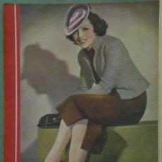 Cine: RX19 RENEE SAINT CYR REVISTA ESPAÑOLA CINEGRAMAS Nº 86 ABRIL 1936. Lote 37605604