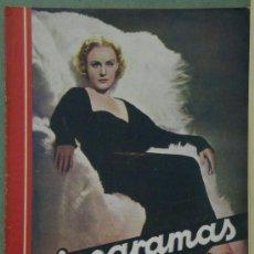 Cine: RX10 MADGE EVANS REVISTA ESPAÑOLA CINEGRAMAS Nº 86 MAYO 1936. Lote 37605689