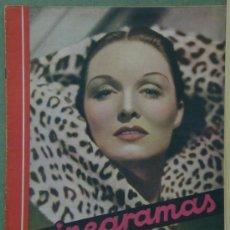 Cine: RX22 GAIL PATRICK REVISTA ESPAÑOLA CINEGRAMAS Nº 70 ENERO 1936. Lote 37605788