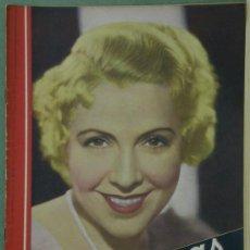 Cine: RX24 CATALINA BARCENA REVISTA ESPAÑOLA CINEGRAMAS Nº 30 MARZO 1935. Lote 37605794
