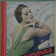 Cine: RX26 KATHLEEN BURKE REVISTA ESPAÑOLA CINEGRAMAS Nº 31 ABRIL 1935. Lote 37605892