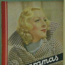 Cine: RX27 GERTRUDE MICHAEL REVISTA ESPAÑOLA CINEGRAMAS Nº 65 DICIEMBRE 1935. Lote 37605992