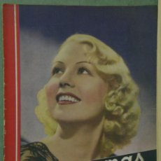 Cine: RX29 CONSTANCE GODRIDGE REVISTA ESPAÑOLA CINEGRAMAS Nº 39 JUNIO 1935. Lote 37606044