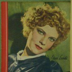 Cinéma: RX31 ELISSA LANDI REVISTA ESPAÑOLA CINEGRAMAS Nº 14 DICIEMBRE 1934. Lote 37606136
