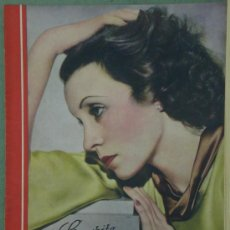 Cine: RX32 CONCHITA MONTENEGRO REVISTA ESPAÑOLA CINEGRAMAS Nº 15 DICIEMBRE 1934. Lote 37606443
