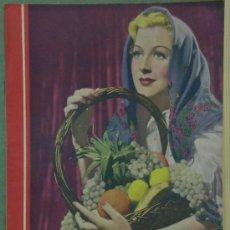 Cinema: RX33 GERTRUDE MICHAEL REVISTA ESPAÑOLA CINEGRAMAS Nº 12 DICIEMBRE 1934. Lote 37606526