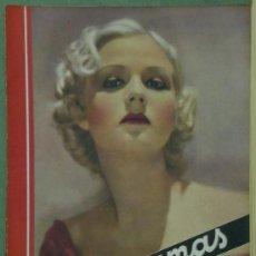 Cine: RX36 JEAN ROGERS REVISTA ESPAÑOLA CINEGRAMAS Nº 60 NOVIEMBRE 1935. Lote 37606598