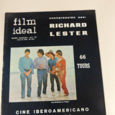 revista film ideal nº 187 - año 1966 - richard lester - the beatles - help