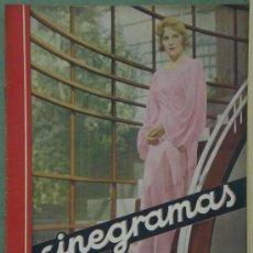 Cine: RX46 MADELEINE CARROLL REVISTA ESPAÑOLA CINEGRAMAS Nº 34 MAYO 1935. Lote 37649287