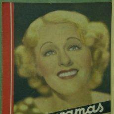 Cine: RX47 GRACE MOORE REVISTA ESPAÑOLA CINEGRAMAS Nº 71 ENERO 1936. Lote 37649307