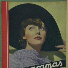 Cinéma: RX48 ADRIENNE AMES REVISTA ESPAÑOLA CINEGRAMAS Nº 42 JUNIO 1935. Lote 37649334
