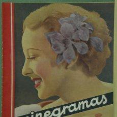 Cine: RX49 ANNA LEE REVISTA ESPAÑOLA CINEGRAMAS Nº 33 ABRIL 1935. Lote 37649359