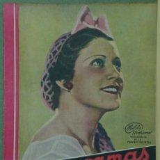 Cine: RX51 HILDA MORENO REVISTA ESPAÑOLA CINEGRAMAS Nº 5 OCTUBRE 1934. Lote 37649468