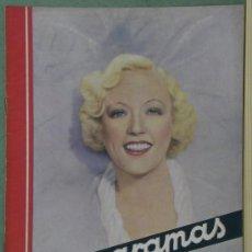 Cine: RX52 MARION DAVIES REVISTA ESPAÑOLA CINEGRAMAS Nº 72 ENERO 1936. Lote 37649508