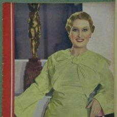 Cine: RX59 LINA YEGROS REVISTA ESPAÑOLA CINEGRAMAS Nº 74 FEBRERO 1936. Lote 37649806