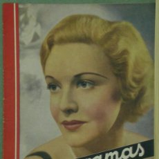 Cine: RX61 MADELEINE CARROLL REVISTA ESPAÑOLA CINEGRAMAS Nº 41 JUNIO 1935. Lote 37649860