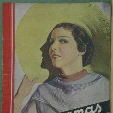 Cine: RX62 ELISSA LANDI REVISTA ESPAÑOLA CINEGRAMAS Nº 44 JULIO 1935. Lote 37649920