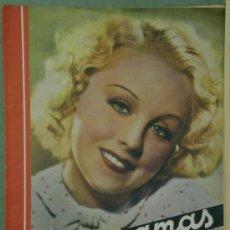 Cine: RX64 ANNY ONDRA REVISTA ESPAÑOLA CINEGRAMAS Nº 87 MAYO 1936. Lote 37649976