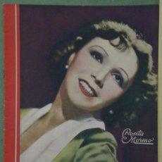 Cine: RX65 ROSITA MORENO REVISTA ESPAÑOLA CINEGRAMAS Nº 13 DICIEMBRE 1934. Lote 37649992
