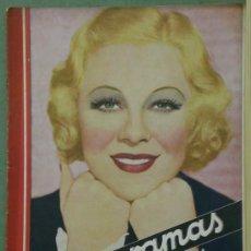 Cine: RX67 GLENDA FARRELL REVISTA ESPAÑOLA CINEGRAMAS Nº 57 OCTUBRE 1935. Lote 37650176