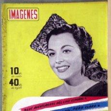 Cine: RX98 PAQUITA RICO REVISTA ESPAÑOLA IMAGENES Nº 1 AGOSTO 1951. Lote 37657289