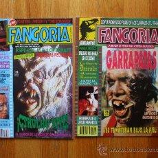 Cinema: LOTE DOS NUMEROS FANGORIA 5,21, REVISTA DE TERROR. Lote 37684703