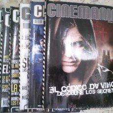 Cinema: LOTE CINEMANIA 6 REVISTAS (128 - 133). Lote 37693979