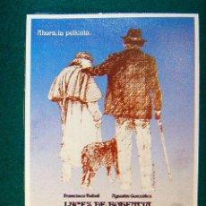Cine: LUCES DE BOHEMIA - MIGUEL ANGEL DIEZ - FRANCISCO RABAL - AGUSTIN GONZALEZ - SIGUE .... Lote 231722280