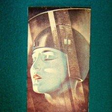 Cine: METROPOLIS - FRITZ LANG - GUSTAV FROHLICH - BRIGITTE HELM - ESTRENADA EN 1927 - SIGUE ... . Lote 37752939