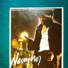 Cine: NAVAJEROS - ELOY DE LA IGLESIA - JOSE L. MANZANO - JOSE SACRISTAN - ENRIQUE SANFRANCISCO - SIGUE .... Lote 254270545