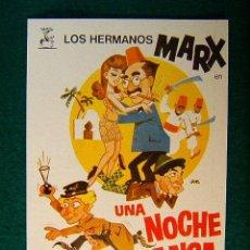Cine: UNA NOCHE EN CASABLANCA - ARCHIE L. MAYO - LOS HERMANOS MARX - ILUSTRACION DE JANO - SIGUE ... . Lote 37816794