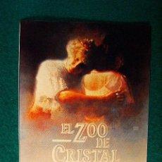 Cinema: EL ZOO DE CRISTAL - THE GLASS MENAGERIE - PAUL NEWMAN - JOANNE WOODWARD - JOHN MALKOVICH - SIGUE .... Lote 37827967