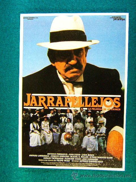 JARRAPELLEJOS, LA PELICULA DE UN CRIMEN - ANTONIO GIMENEZ RICO - ANTONIO FERRANDIS - MAS ... (Cine - Reproducciones de carteles, folletos...)