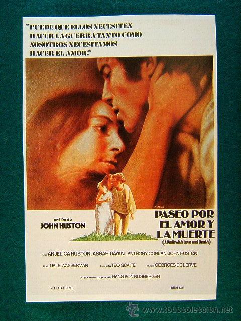 Paseo por el amor y la muerte - john huston - a - Vendido en Venta Directa  - 105745466