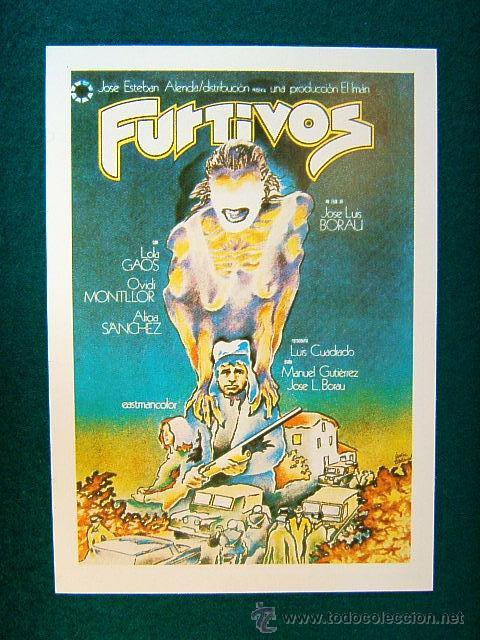 cartel de la pelicula furtivos