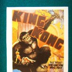 Cine: KING KONG - ESTRENADA EN 1933 - ERNEST B. SCHOEDSACK - FAY WRAY - ROBERT ARMSTRONG - ESTE .... Lote 37954568