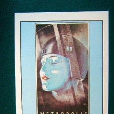 Cine: METROPOLIS - ESTRENADA EN 1926 - FRITZ LANG - BRIGITTE HELM - ALFRED ABEL - FRITZ RASP - ESTE ... . Lote 37955462