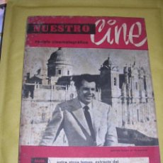 Cine: REVISTA CINEMATOGRAFICA - NUESTRO CINE Nº1 - JULIO 1961 ,64 PAG. 24X17 CM. ,MADRID . Lote 38030250