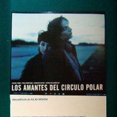 Cine: LOS AMANTES DEL CIRCULO POLAR - JULIO MEDEN - NAJWA NIMRI - FELE MARTINEZ - PEP MUNNE - GUIA .... Lote 240999090